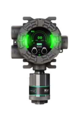 MSA ULTIMA X5000 Gas Detector with green status LEDs shining